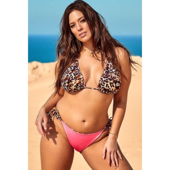 92736cf3d Ashley Graham Swim | Icon Genet Reversible Bikini Sz 16 | Poshmark